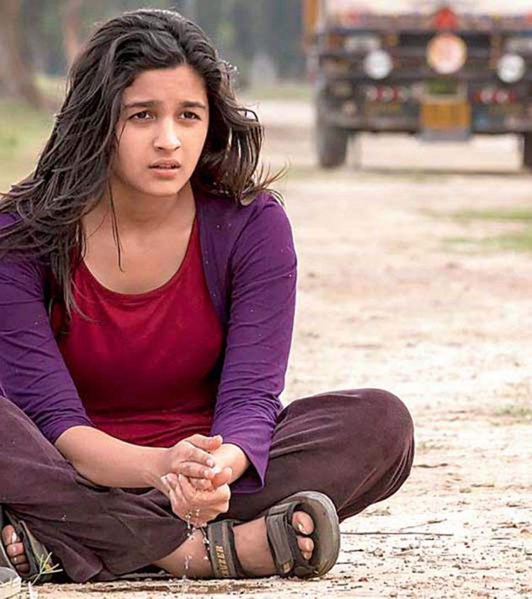 Alia Bhatt as a would-be-bride looking for freedom in Highway