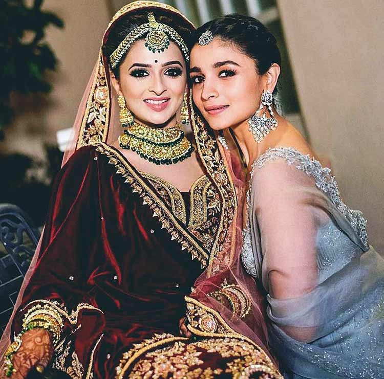Alia Bhatt is also the perfect bridesmaid goal
