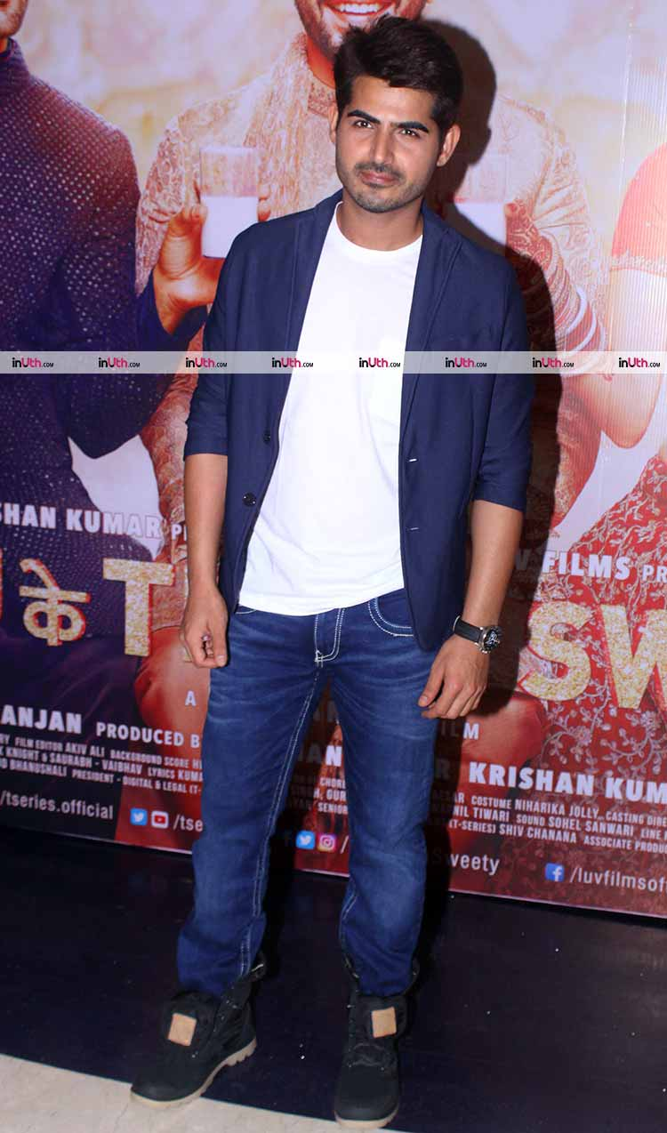 Omkar Kapoor at Sonu Ke Titu Ki Sweety success bash