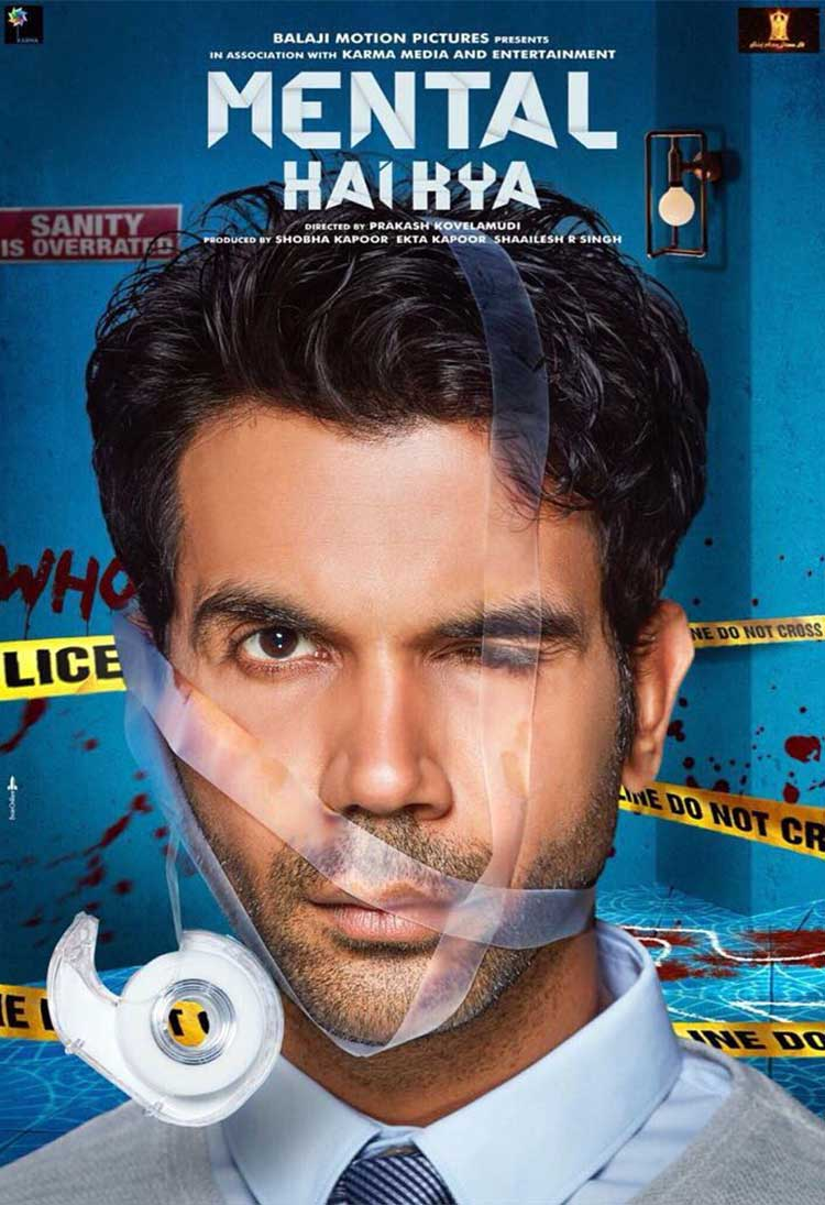 Rajkummar Rao is spelling insane with his expressions in Mental Hai Kya poster