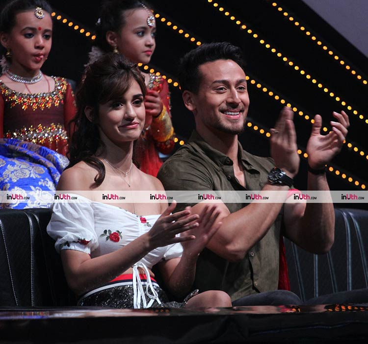 Tiger Shroff and Disha Patani promoting Baaghi 2 on DID Little Masters 4