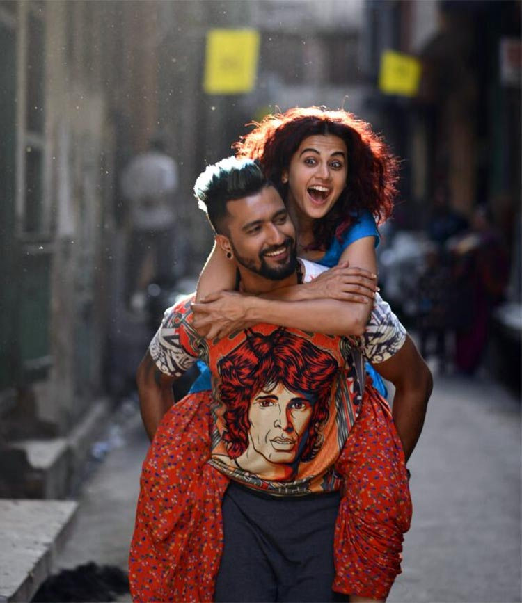 Vicky Kaushal and Taapsee Pannu in Manmarziyan first look
