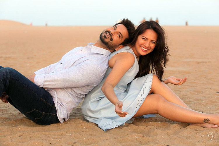 Rochelle Rao and Keith Sequeira had met on a flight before falling in love