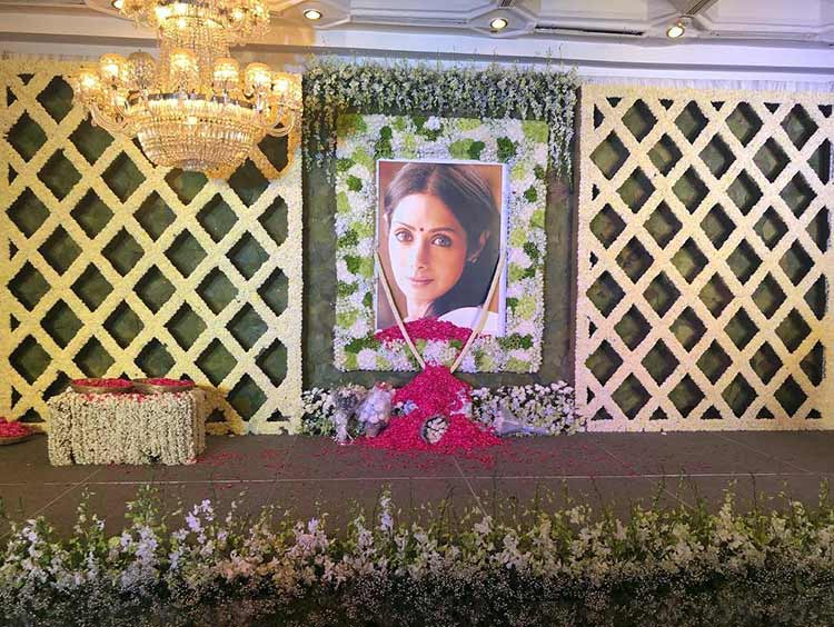 Sridevi's prayer meet in Chennai left everyone emotional