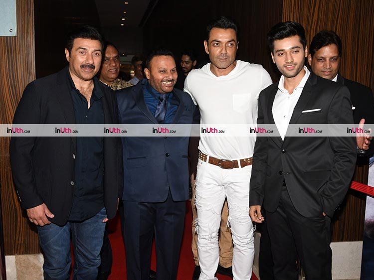 Sunny and Bobby Deol at Genius wrap-up party