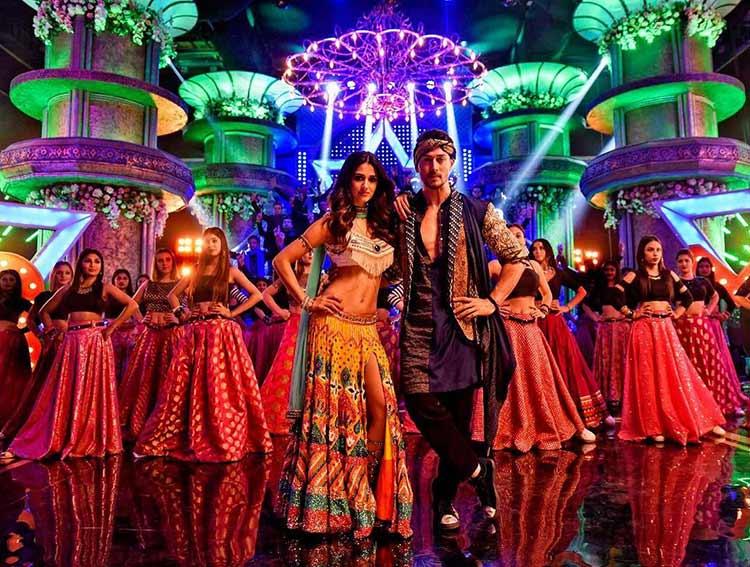 Tiger Shroff and Disha Patani in Baaghi 2