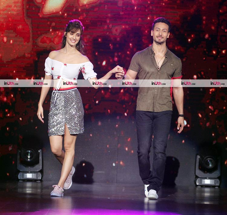 Baaghi 2 actors Disha Patani and Tiger Shroff on DID Little Masters 4 stage
