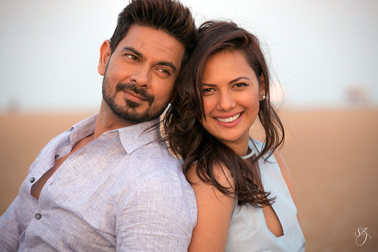 Rochelle Rao and Keith Sequeira look gorgeous in this pic from the wedding