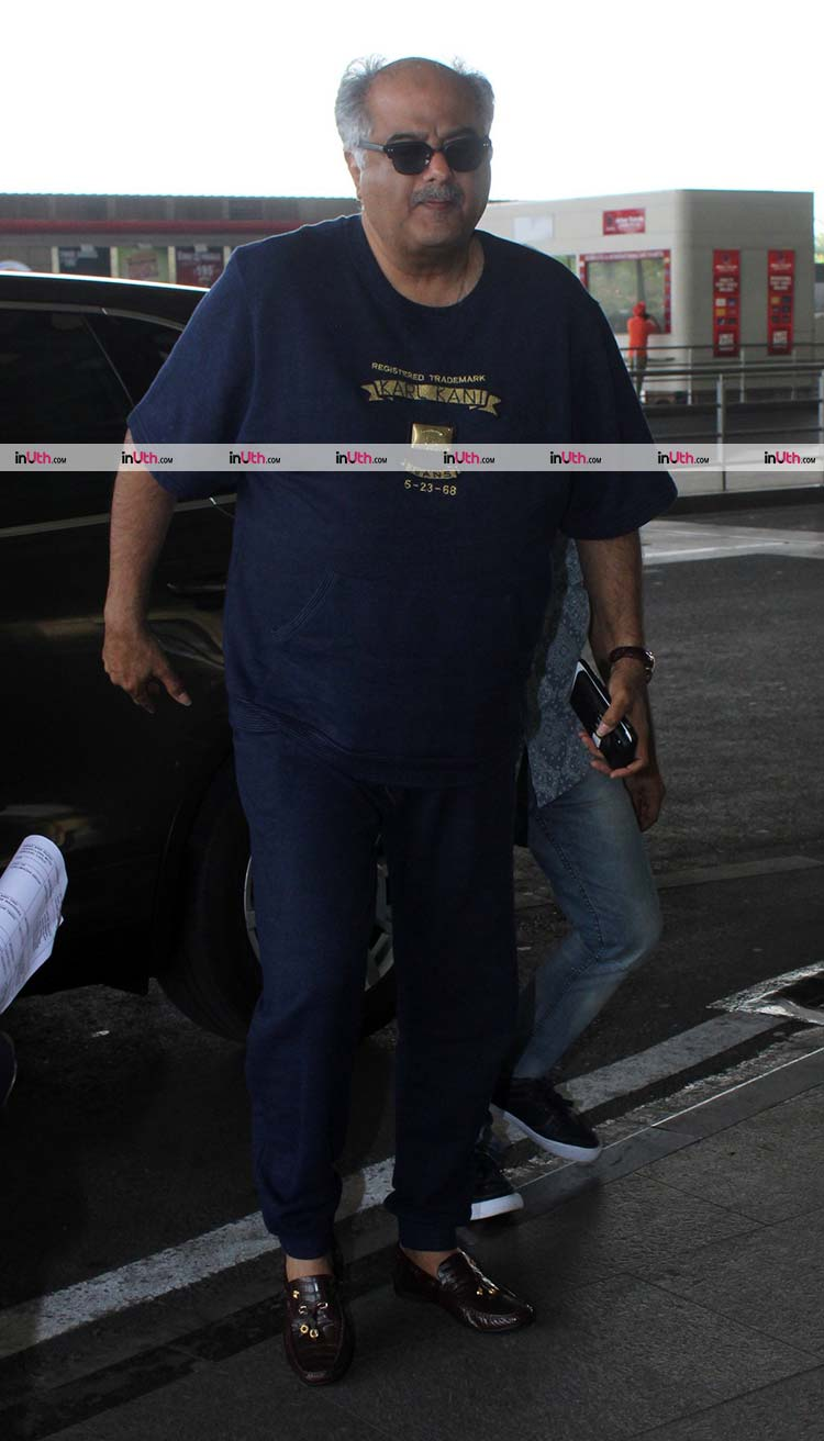 Boney Kapoor leaving for Chennai for Sridevi's prayer meet