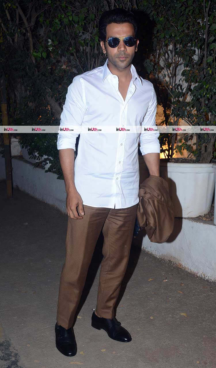 Rajkummar Rao at Mental Hai Kya team party