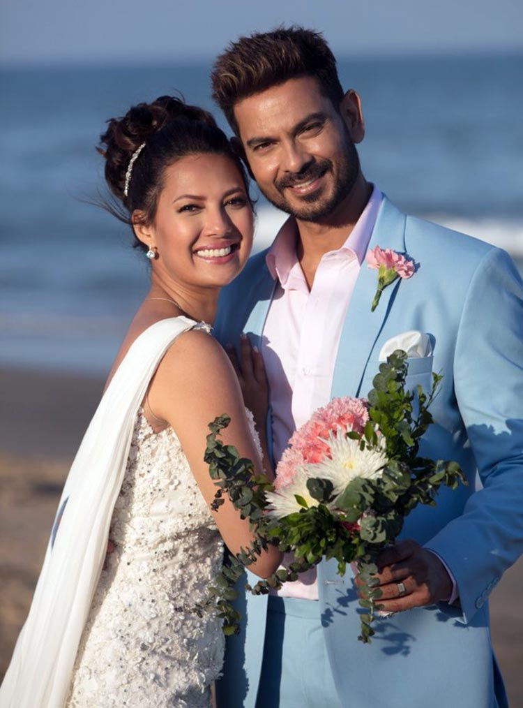Rochelle Rao and Keith Sequeira got engaged in 2017