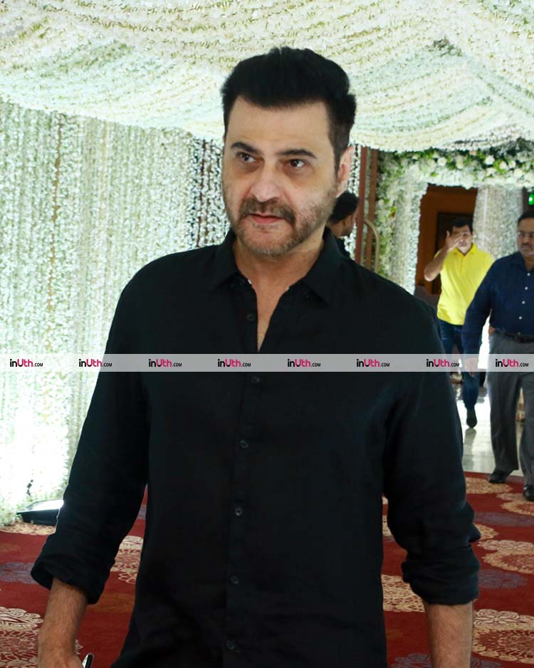Sanjay Kapoor at Sridevi's Chennai prayer meet