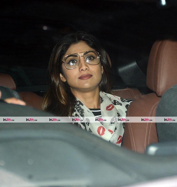 Shilpa Shetty at Hichki screening