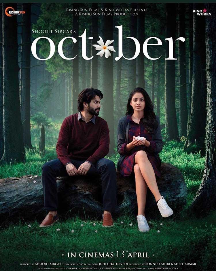 Varun Dhawan and Banita Sandhu in October