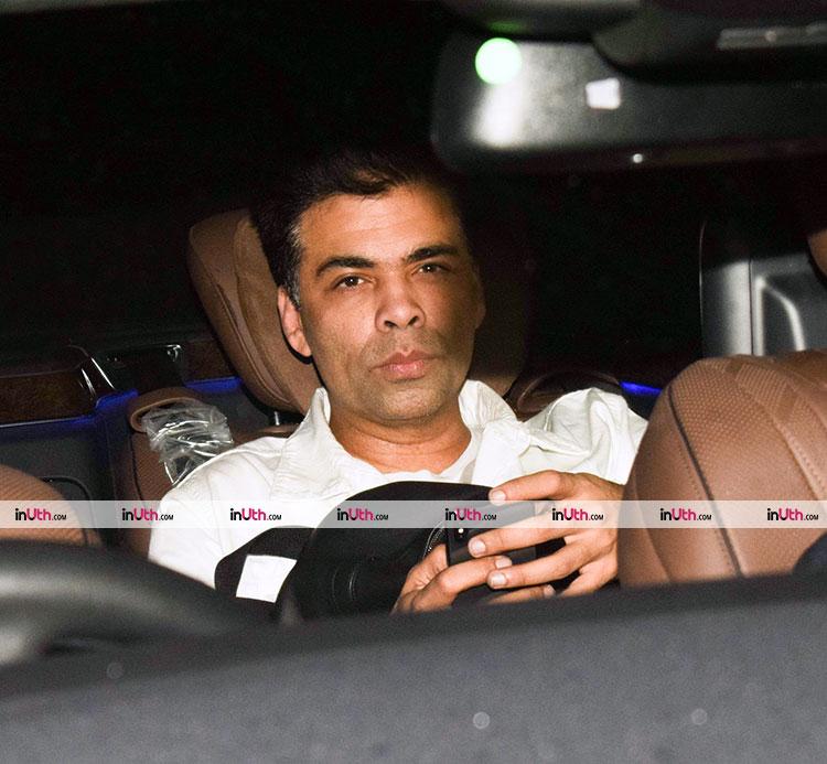 Karan Johar at Hichki screening