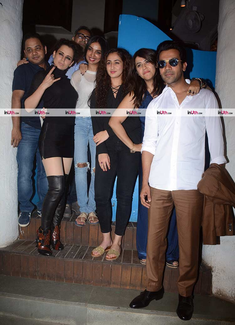 Team Mental Hai Kya posing for the shutterbugs