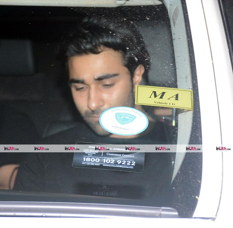 Aadar Jain at Hichki special screening