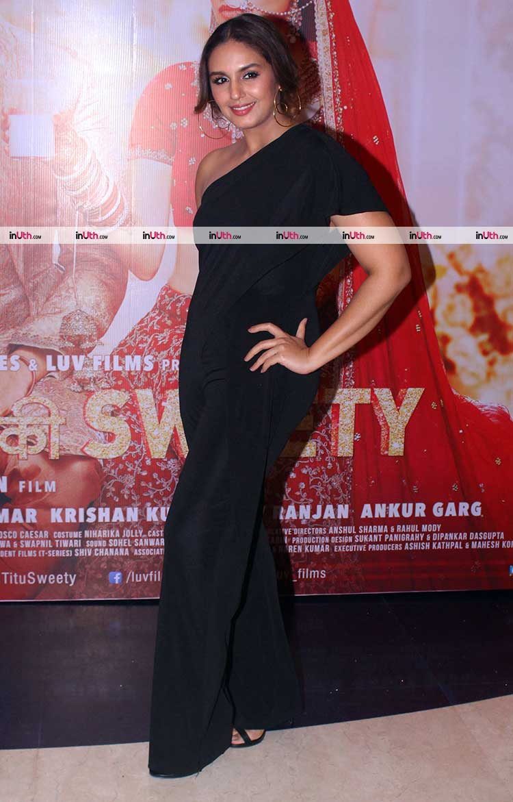 Huma Qureshi at Sonu Ke Titu Ki Sweety success bash