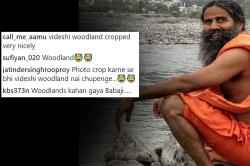 Are Those Woodland Shoes Baba Ramdev Is Hiding On Instagram?