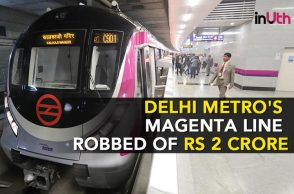 Delhi Metro, Magenta Line, Robbed