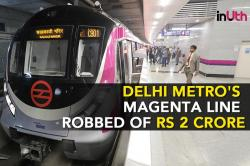 Three Months After Launch, Delhi Metro's Magenta Line Already Robbed Of Rs 2 Crore