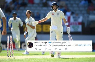 England 58 vs New Zealand, England vs New Zealand, England's lowest score, England's lowest score against New Zealand, Five ducks in an innings England, England's tour of New Zealand, ENG vs NZ 1st Test 2018, Trent Boult, Tim Southee, Craig Overton