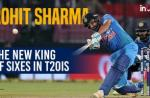 Rohit Sharma Breaks Yuvraj Singh's Record Of Most T20I Sixes For India