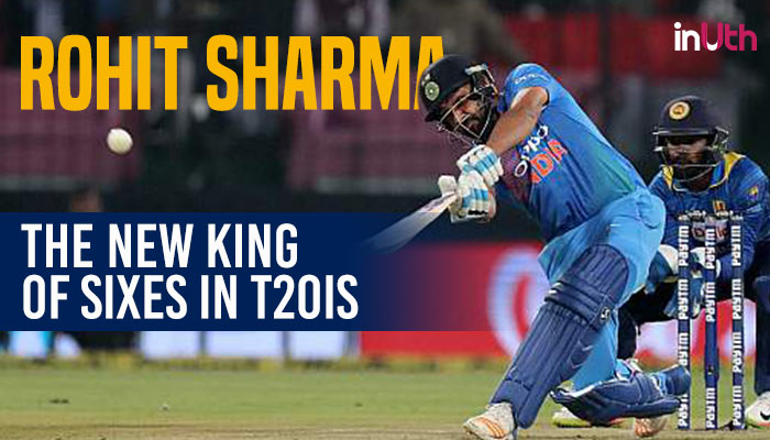 Rohit Sharma Breaks Yuvraj Singh's Record Of Most T20I Sixes ForIndia