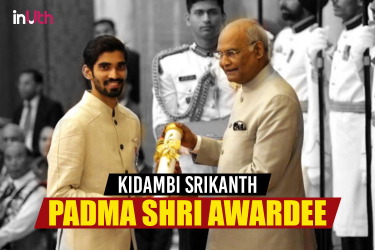 #MuchWow: After A Dream 2017, Kidambi Srikanth Conferred With The Padma Shri Award