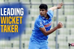 Washington Sundar, India's New Spin Bowling Sensation