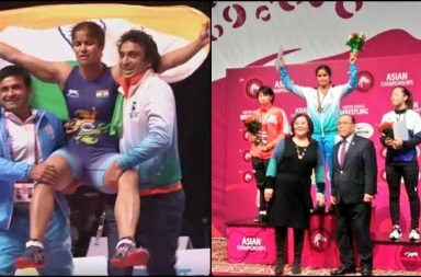 I Was Nervous, But Had Only Chance To Prove: Navjot Kaur, 1st Indian Women To Win Asian Wrestling Gold