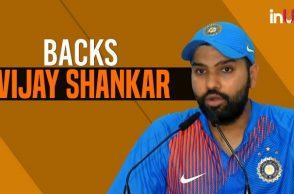 Rohit Sharma defends sending Vijay Shankar ahead of Dinesh Karthik