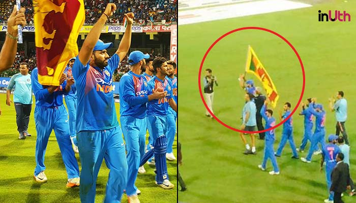 Here's Why Rohit Sharma Walked With Sri Lankan Flag During Victory Lap After Winning Nidahas Tri-Series