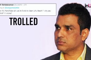 Sanjay Manjrekar Trolled For Tweeting