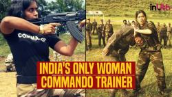 Meet Seema Rao — The Only Woman Commando Trainer Serving Indian Armed Forces For 20 Years