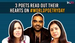 3 Poets Read Out Their Hearts On #WorldPoetryDay
