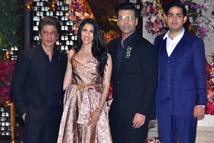 Akash Ambani-Shloka Mehta engagement bash