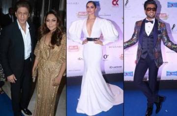 Deepika, Ranveer, Shah Rukh at Hello Hall of Fame Awards 2018