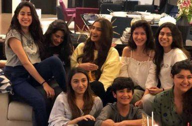 IN PICS: Jahnvi Kapoor's birthday celebrations