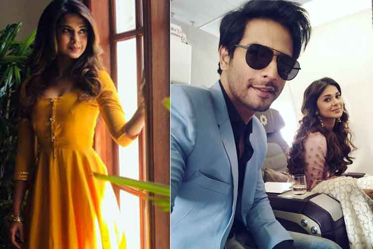 Jennifer Winget and Sehban Azim promote Bepannaah