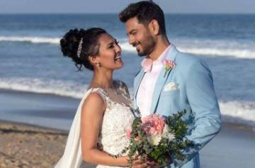 Rochelle Rao and Keith Sequeira wedding pics