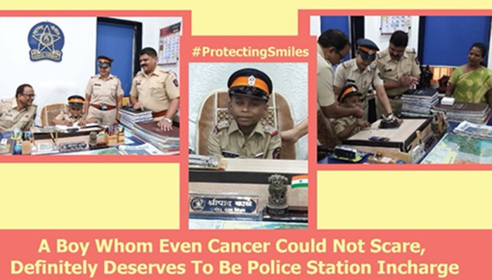 #MuchWow: How Mumbai Police Fulfilled The Wish Of A 7-Year Old Cancer Patient