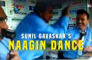 Sunil Gavaskar's 'Naagin Dance' During Nidahas Trophy Final
