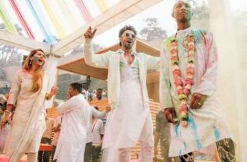 Ranveer Singh's Holi party with Pharrell Williams