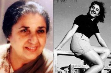 Rare photo of veteran actress Shammi