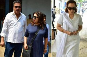Asha Parekh, Farida Jalal, Boman Irani attend actress Shammi's funeral