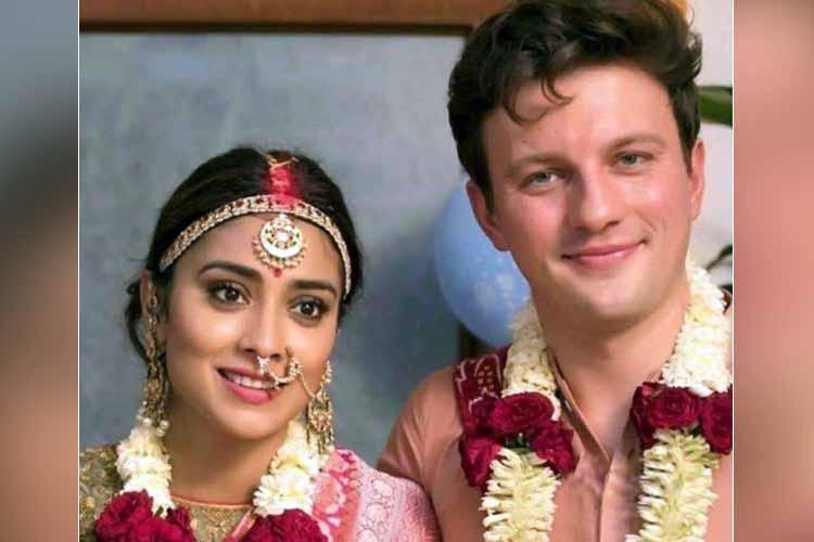 Shriya Saran weddingpics