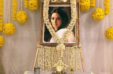 In Pics: Sridevi's prayer meet in Chennai