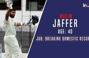 No Stopping: At The Age Of 40, Wasim Jaffer Sets unique batting record in Domestic Cricket