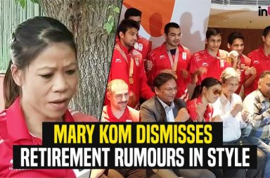 Mary Kom, Mary Kom angry, Mary Kom CWG 2018 press conference, Mary Kom CWG 2018 gold medal, Gold Coast Commonwealth Games 2018, Mary Kom CWG 2018 gold medal, Mary Kom on retirement